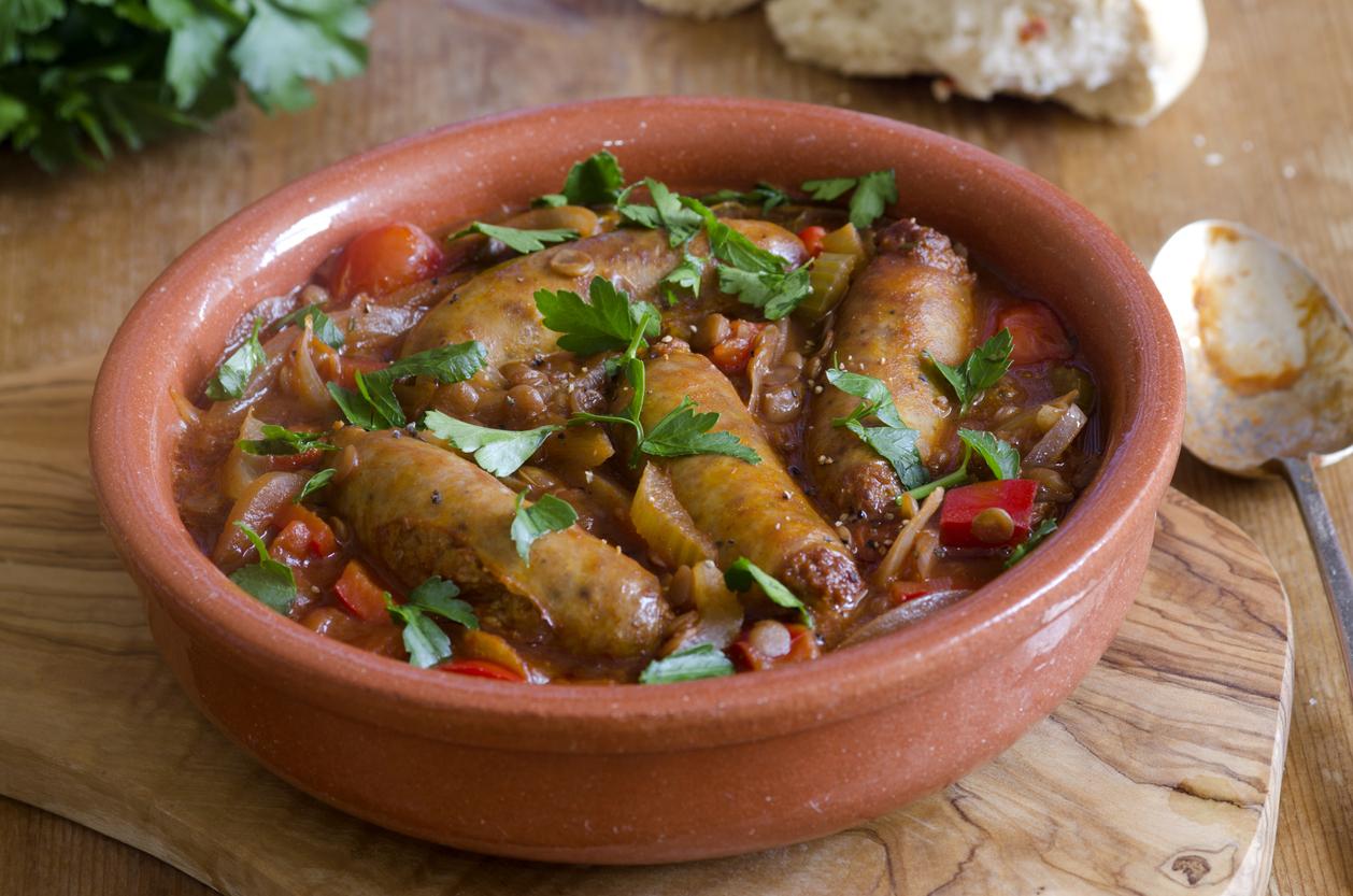 How to make sausage casserole