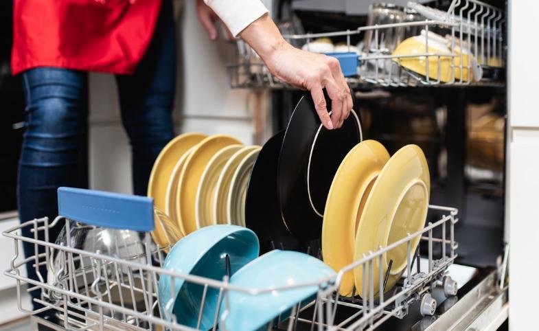 Loading a Dishwasher